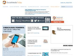 I will publish a Post on Socialmediatoday. com Sponsored Blog Review