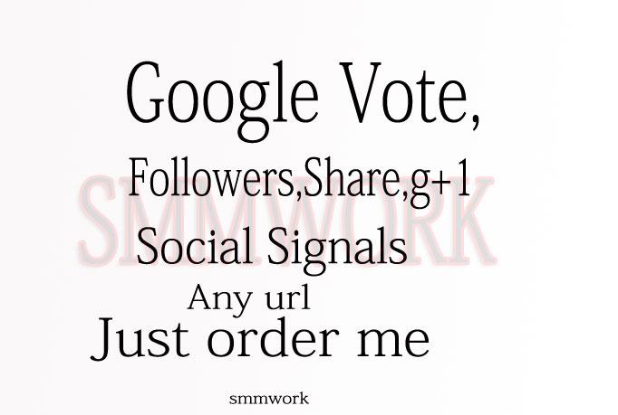 give you 450 US base Google Plus Circle Follow
