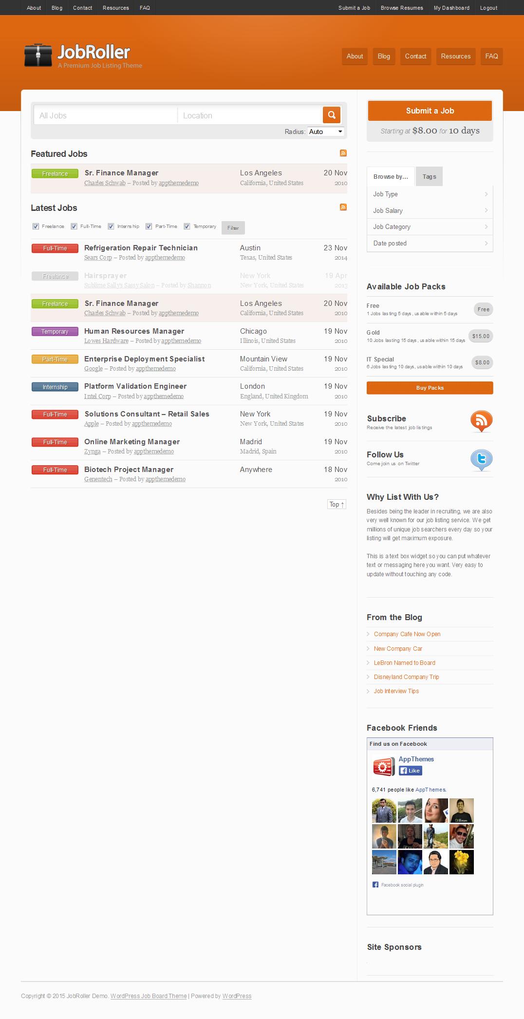 Build Job Portal Website