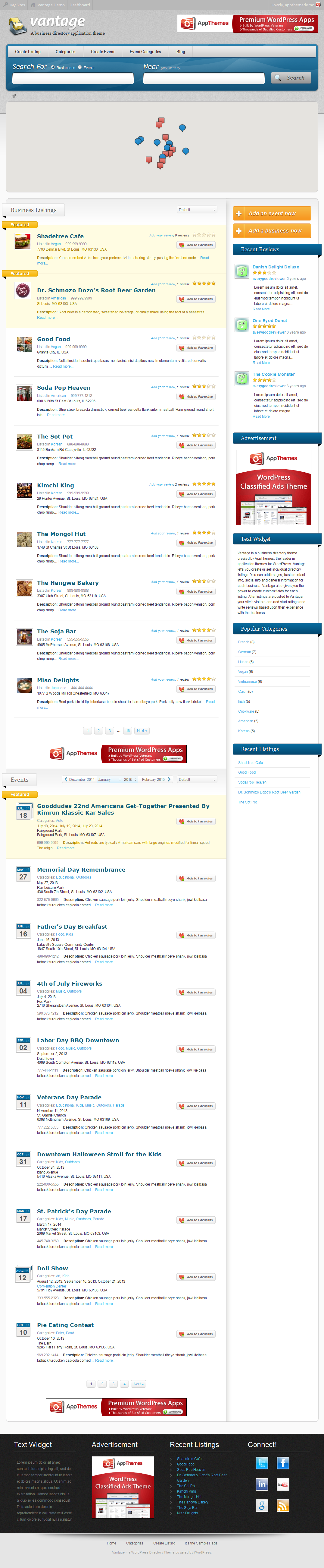 Build Business Directory Website