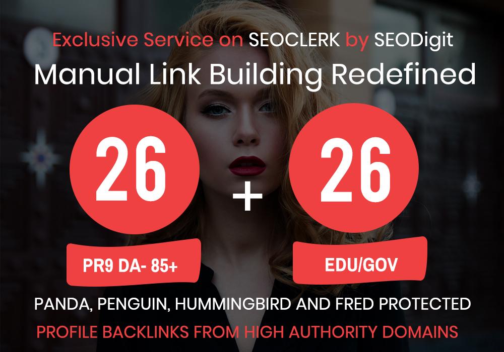 Booster- 26 .EDU/.GOV+ 26 PR9 High Authority Backlinks- Panda,Penguin and Hummingbird safe