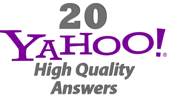 I will create 20 Yahoo Answers attaching your link for Direct and Targeted Traffic to your website