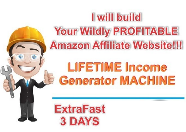 create or build you a Wildly PROfitable Amazon AFFILIATE Website