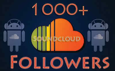 I will Give you real and permanent 1650+ high qualitive Soundy actcloud followers
