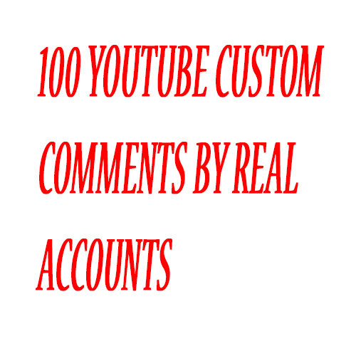 30 real, relevant, aged profile,high quality YouTube Custom comments to your video