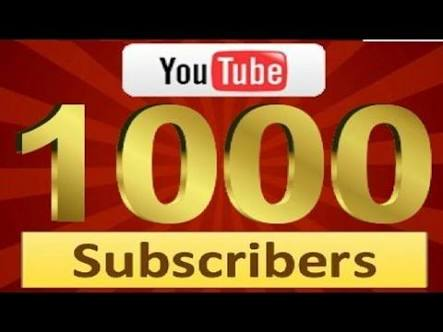 1000+ Youtube Subscr¡bers NON DROP