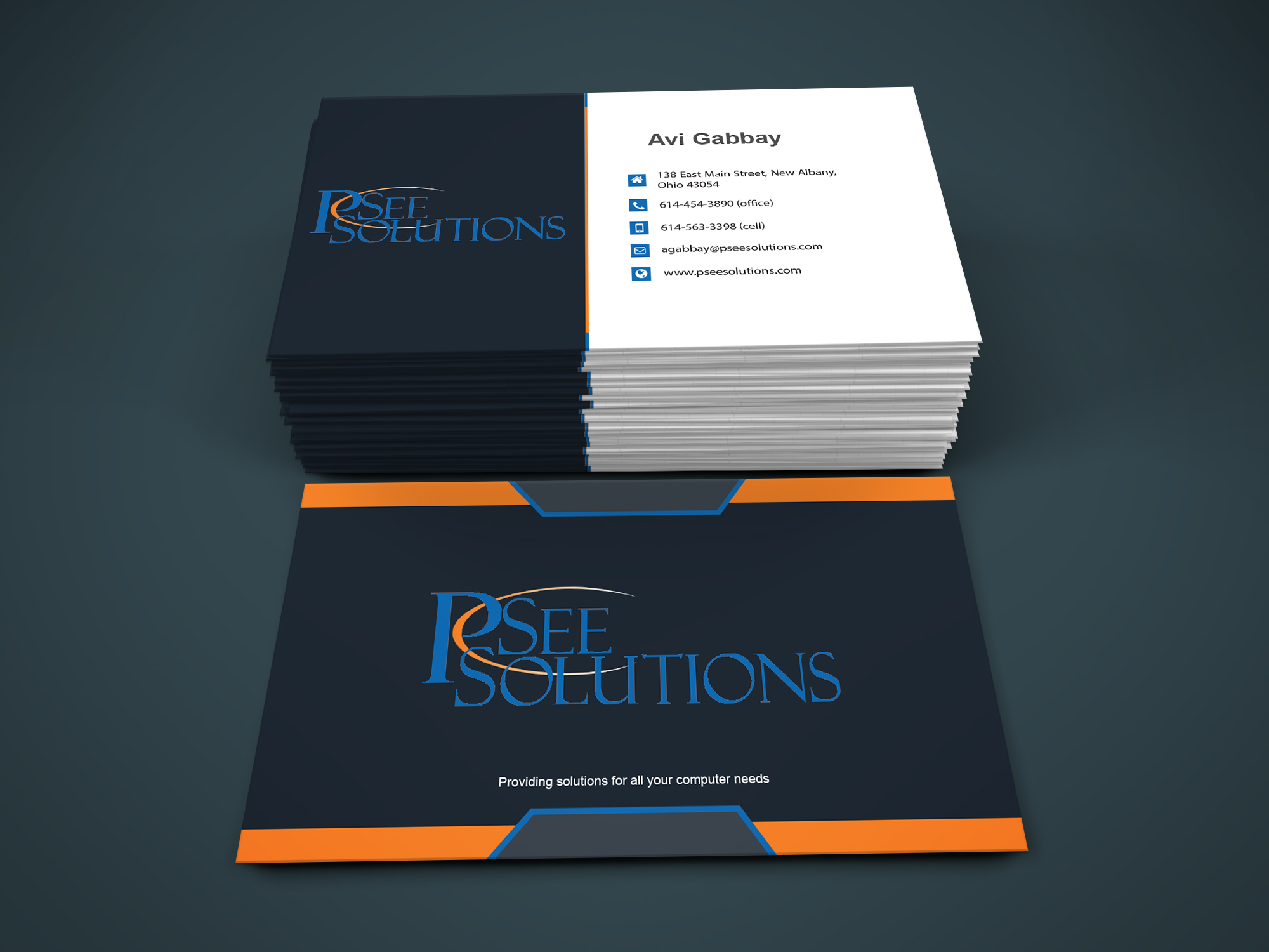 I will do Excellent business card Design fastly