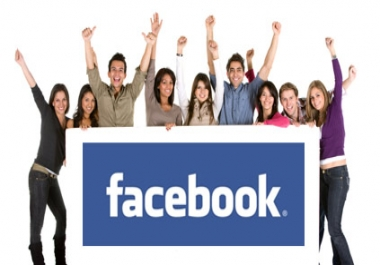 increase 2000 real facebook fans to your fanpage