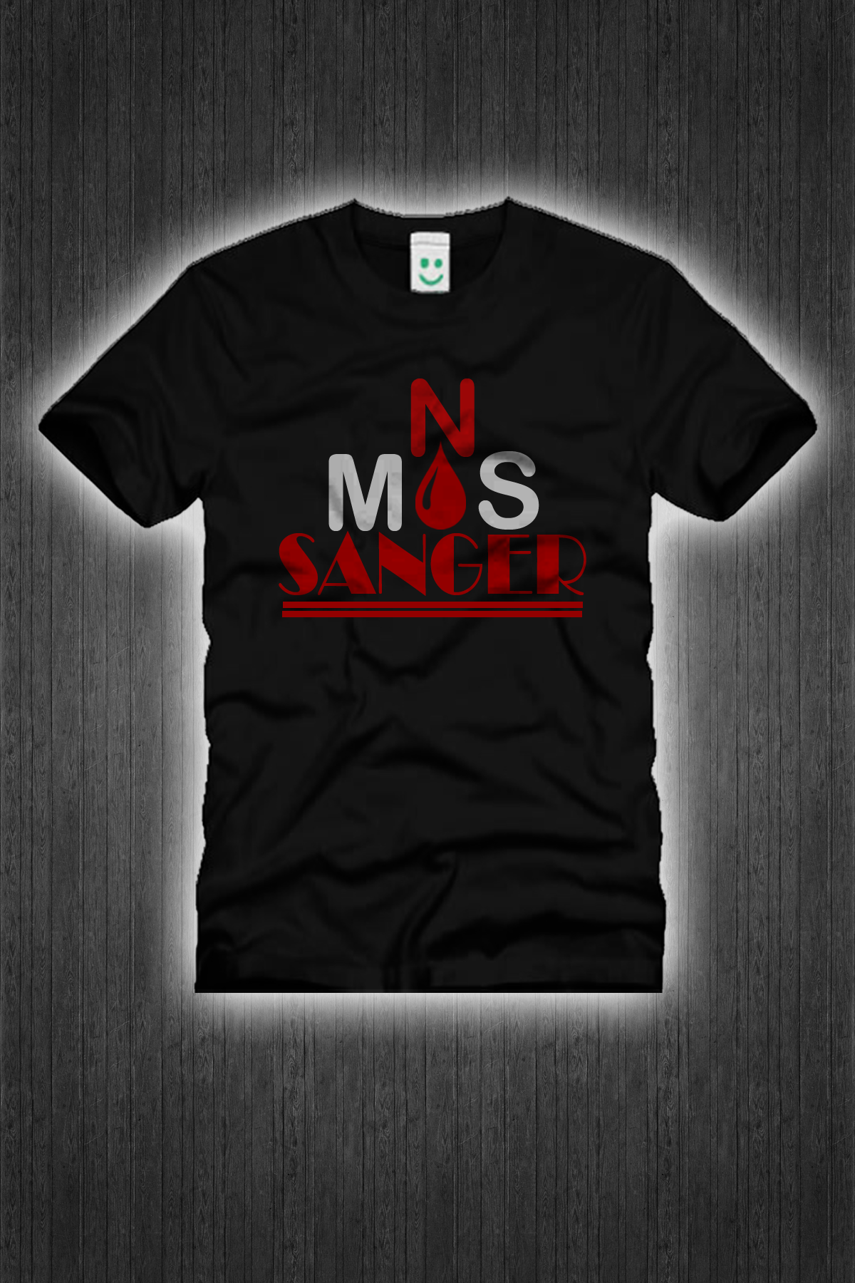 I will put your desain to tshirts