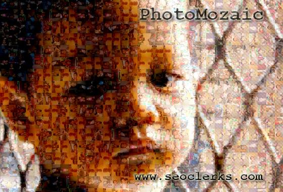 I will transform your photos into beautiful MOZAIC