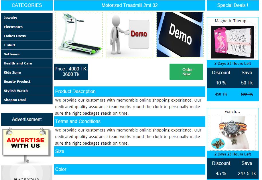 eShop - PHP Base Online Shopping Cart, Online E-commerce Script
