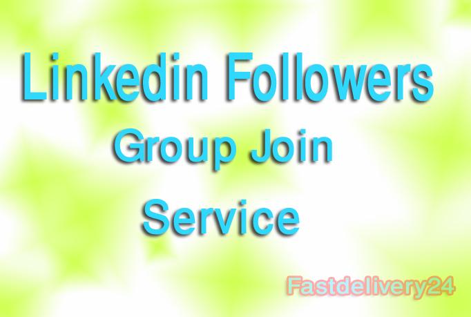 I give you 150 Linkedin Share or Linkedin Followers only