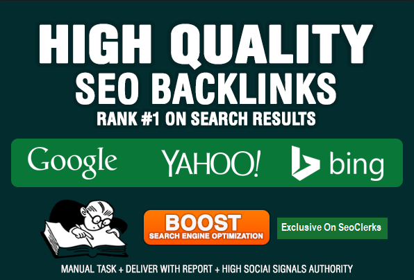 Manually Build 20 PR9 Backlinks From Authority Sites In 24 Hours
