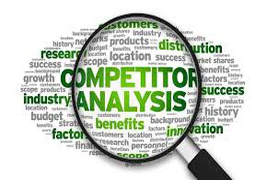 I will give you competitor analysis report