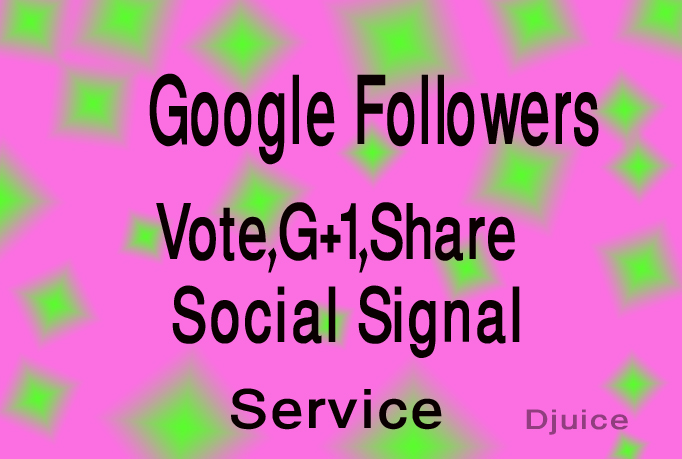 give you 305+ permanent USA google plus vote likes fo...
