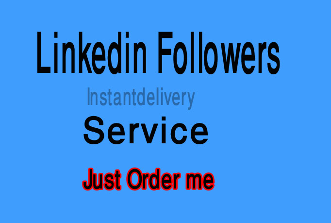 I gave you 55 Linkedin Share or Linkedin Followers Only