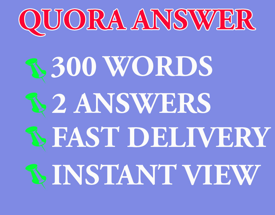 300 Words 2 Quora Answers With Contextual Link
