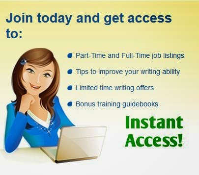 Legit Writing Job Online