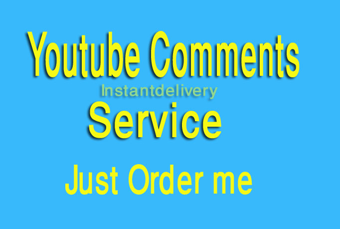 Give 20 Custom Comments in Youtube Video