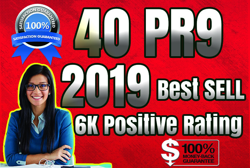 Best Sell-2018 - I will manually do 40 PR9 Safe SEO H...