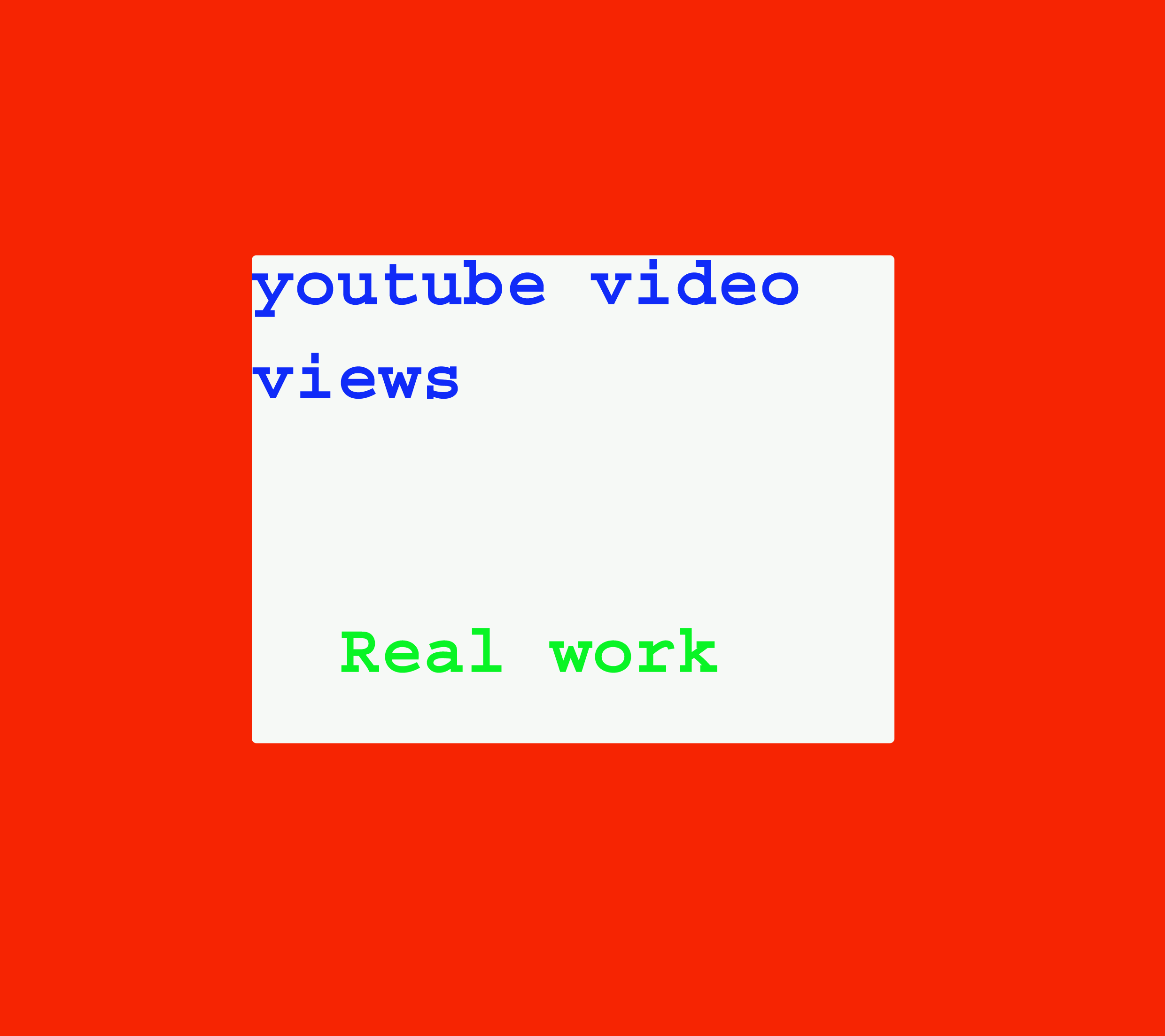 I will give you real 1050+ youtube video likes in your video