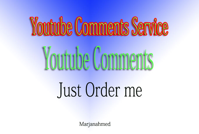 Add YouTube Custom 20 Comments in Your Video only