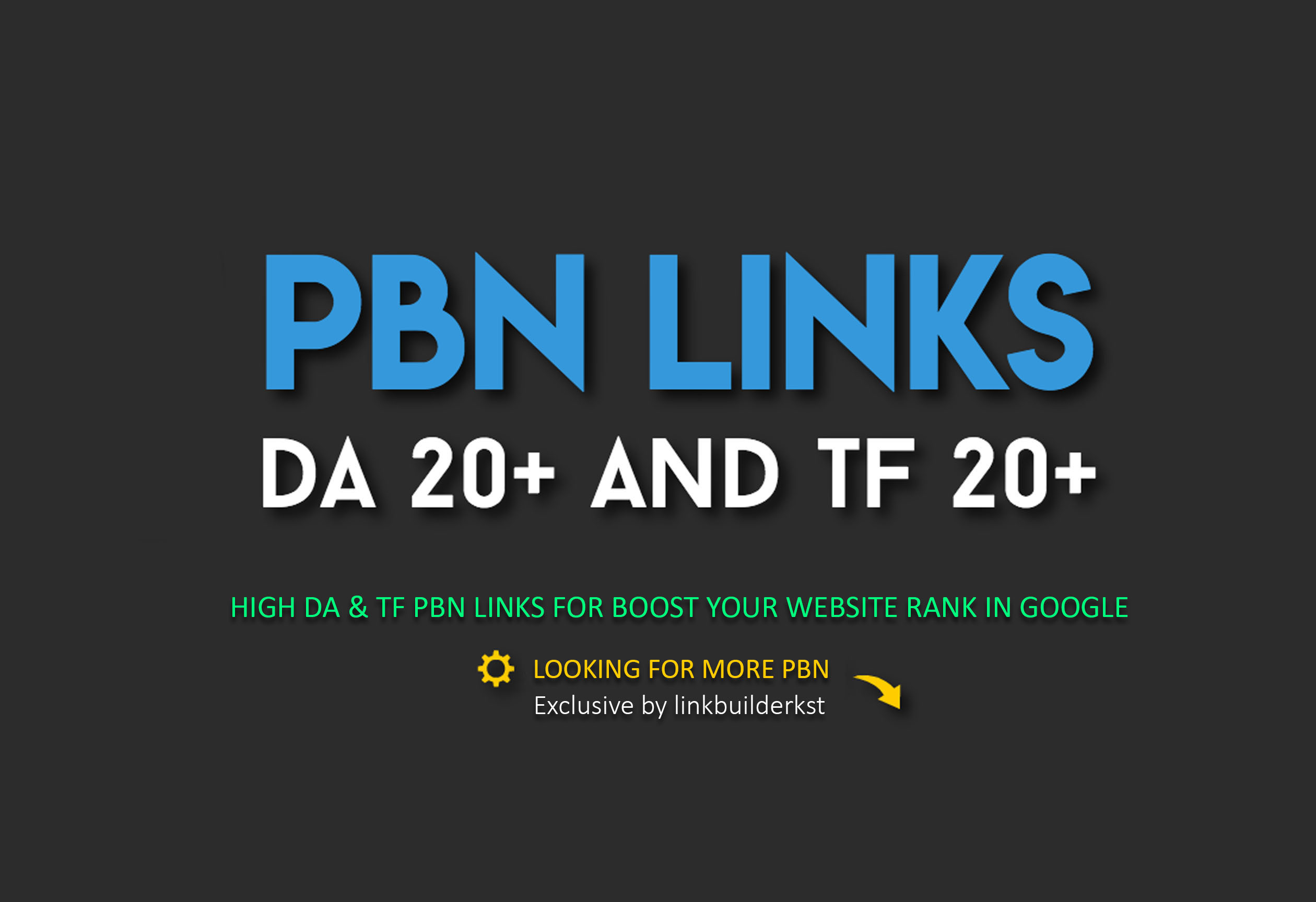 50 Permanent PBN Links From High DA & TF Domains