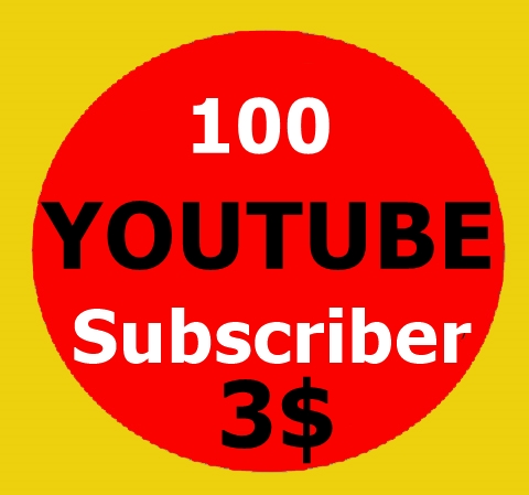 100 High Quality Youtube Subscriber non drop
