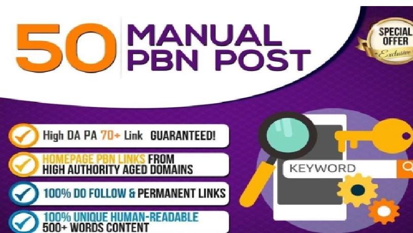 I Will Do High 70 Da Pa Permanent Homepage Pbn Backlinks