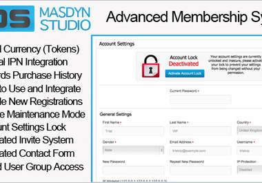 install membership script