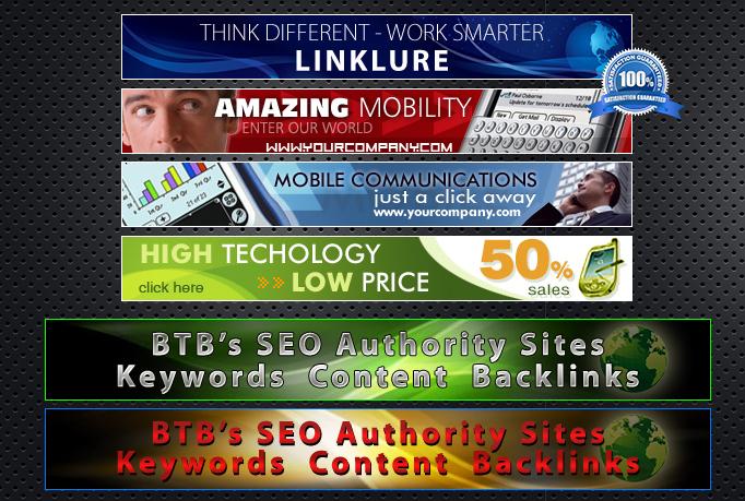 create interesting banner ads or header or flyer or brochure