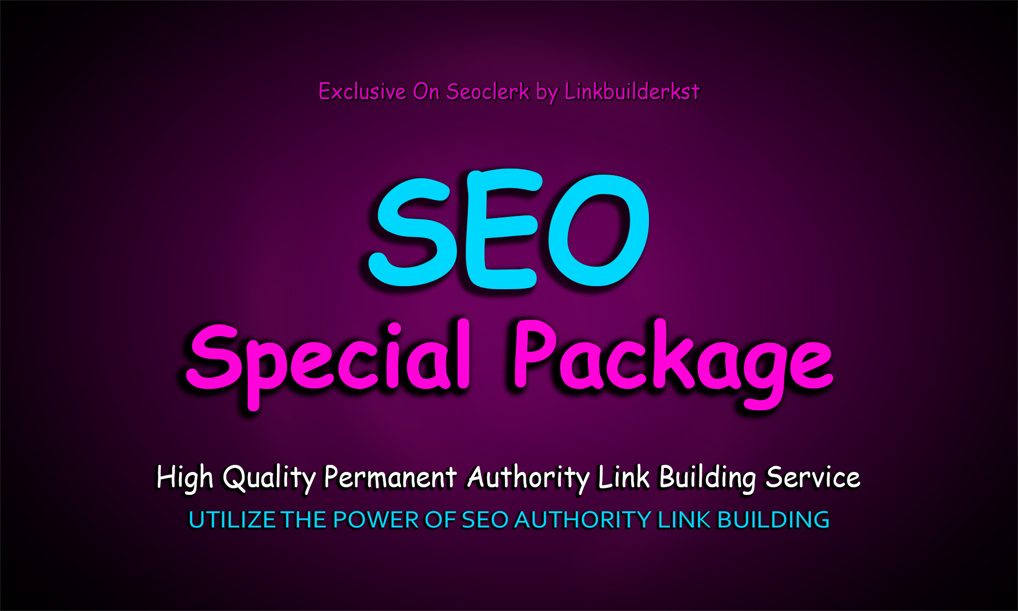 Special SEO Link Building Package