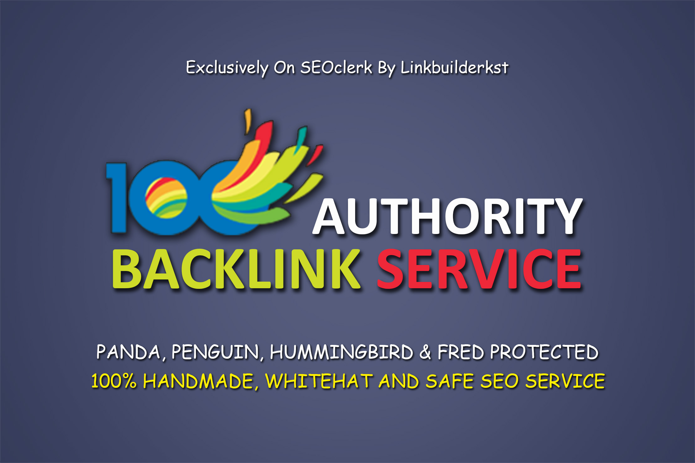Domain Authority Stacking 100 High Pr Handmade Authority Backlinks