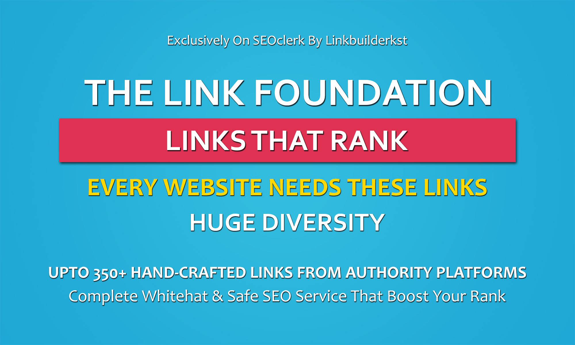 The Link Foundation - A Complete SEO Solution For Google Rankings