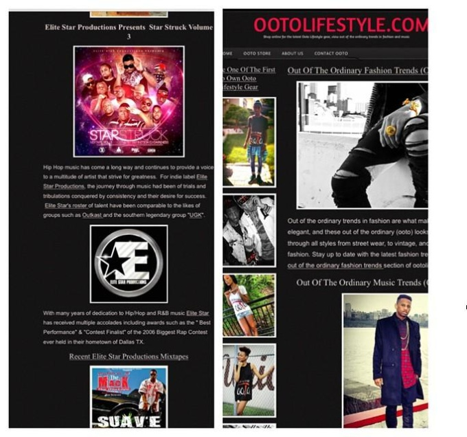 Post an article and your video about your music on my website