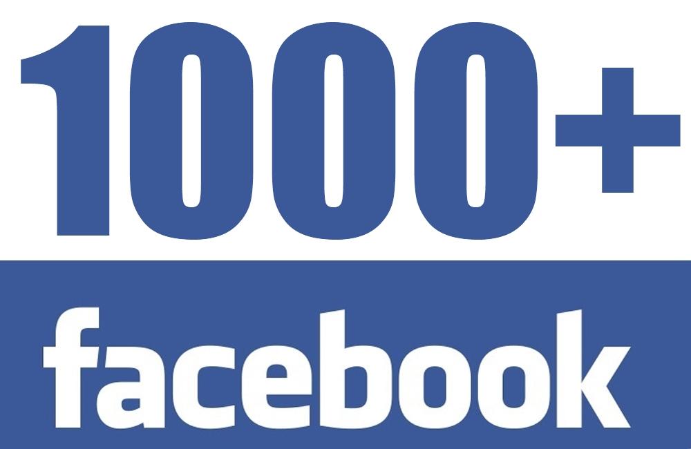 1000 Fac-B00k Fans