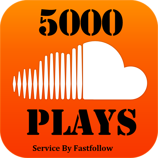 5000 Soundcloud Plays or 100 Followers or Likes or 1000 Downloads
