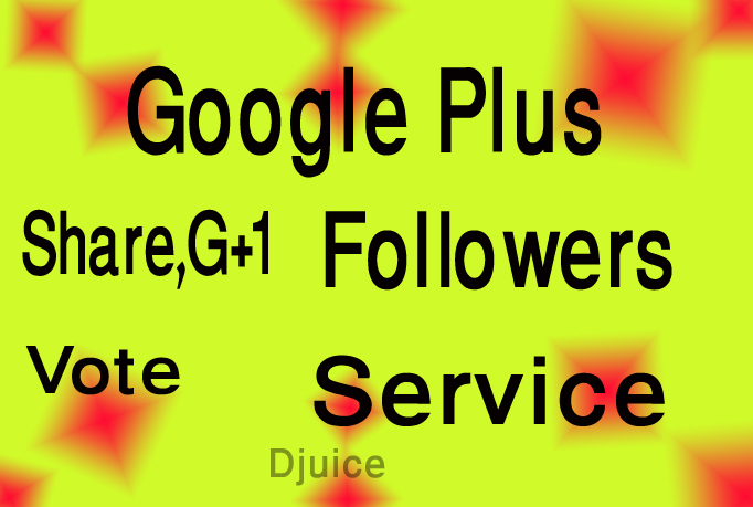 Add 300+ USA GOOGLE Plus Vote to Any Websites OR 300+ USA Google Plus Follow To Your Circle