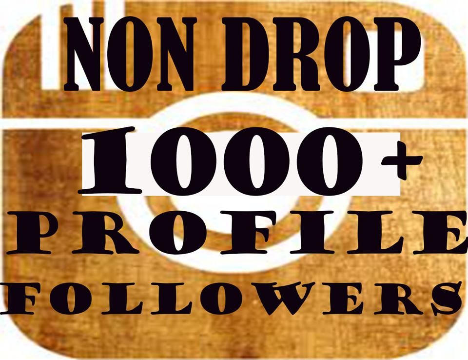 Get 1000+ HQ Profile Followers within 2-3h