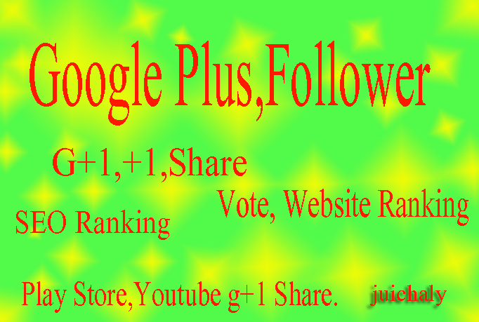 Add 450+ REAL & Permanent USA Google Plus Vote Share for Websites YouTube Videos
