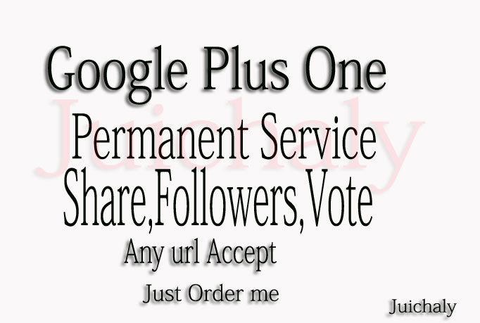 Add over 505 Google Plus 1s ones, vote, shares, li...