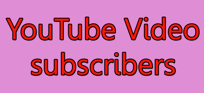Provide You 50+ HQ YouTube Subscribers