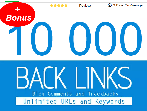 post 10,005 Blogs Comments, Backlinks , first page google