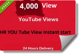 Start instant 6000-7000 YouTube Video Views within 48 hours