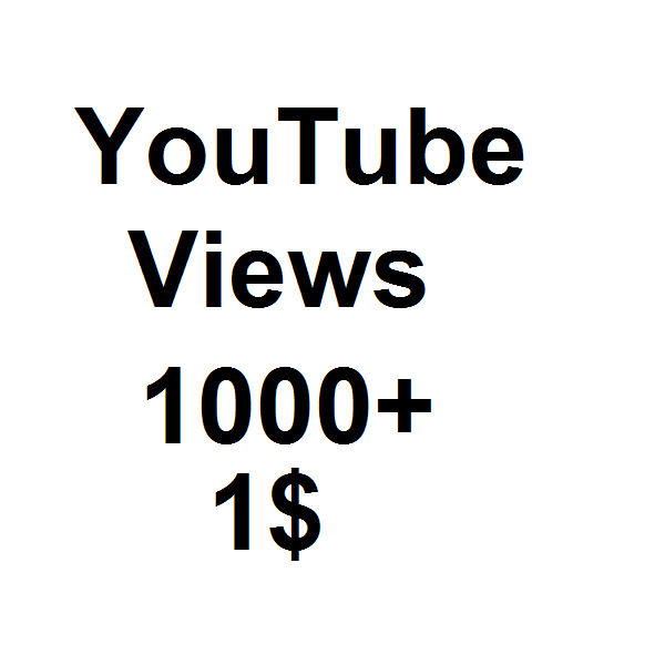 1000+ High Quality You-tube V-iews Fast delivery