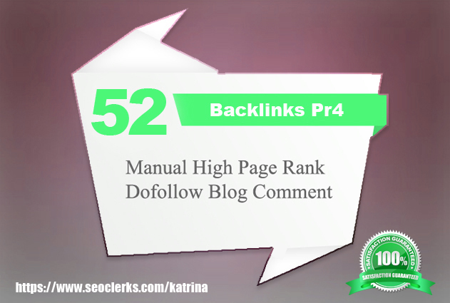 Offer you fifty-two Pr4 Long lasting Inbound links Coming from Genuine Page rank.