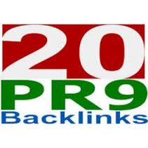 I will build 20 PR9 seo optimized backlinks, Panda Penguin safe