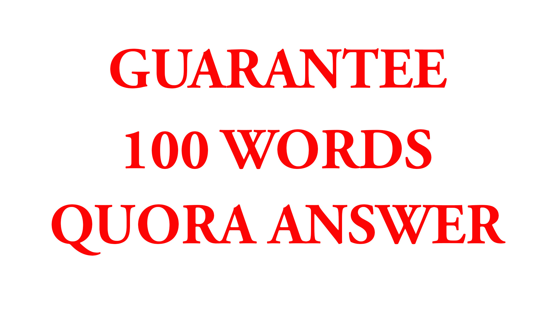 Get Unlimited Traffic from 100 Words Quora Answer with Contextual Link