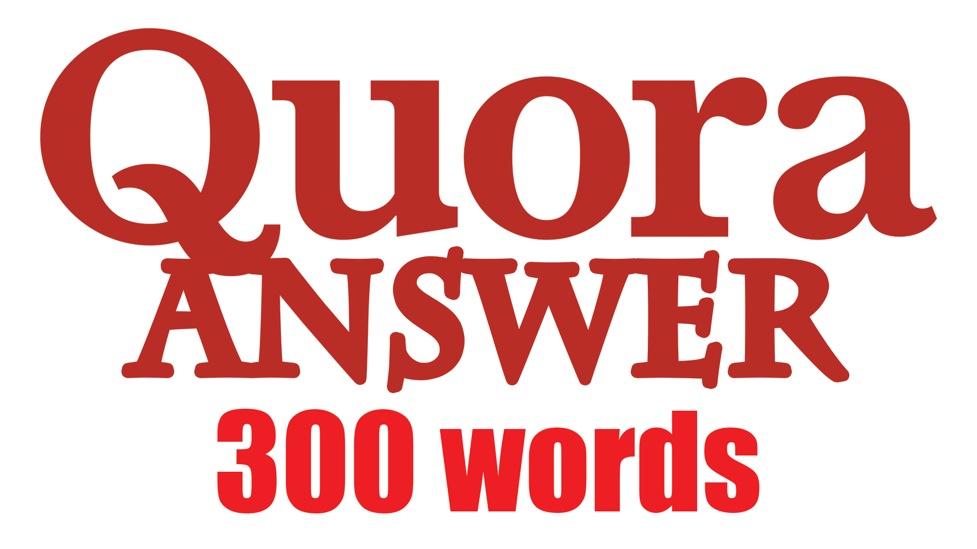 Guarantee 300 Words Quora Answer With Contextual Link