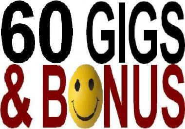 GIVE YOU 60 GIGS AND A HUGE BONUS WITHIN 24 HOURS